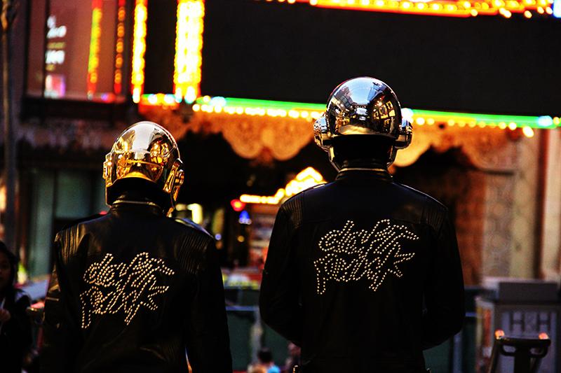 Daft Punk Helmets by Artcraft Plating