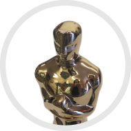 The Oscar, plated by Artcraft