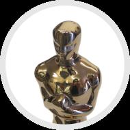 The Oscar, plated by Artcraft