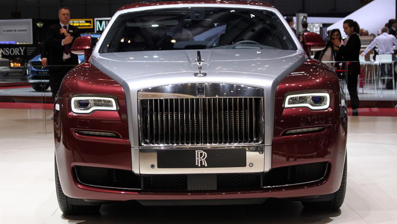 Artcraft plates automobiles including this Rolls Royce