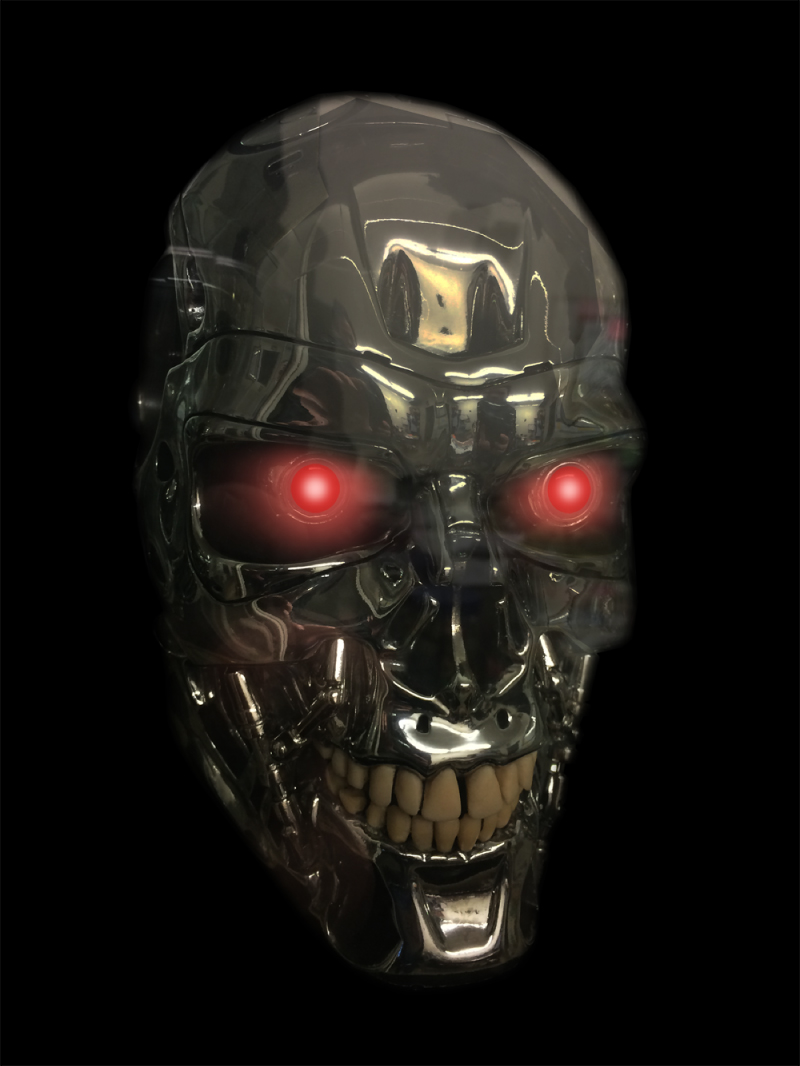Terminator Movie Plating by Artcraft